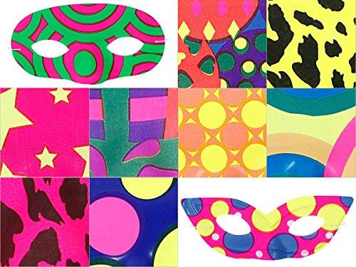 Masque-loup-en-PVC-plastique-environ-17-x-8-cm-Possde-un-lastique-Ide-de-Dguisement-pour-Soires-et-Ftes-Dguises--Thme-Carnaval-Bal-Masqu-Pour-complter-Costume-Tenue