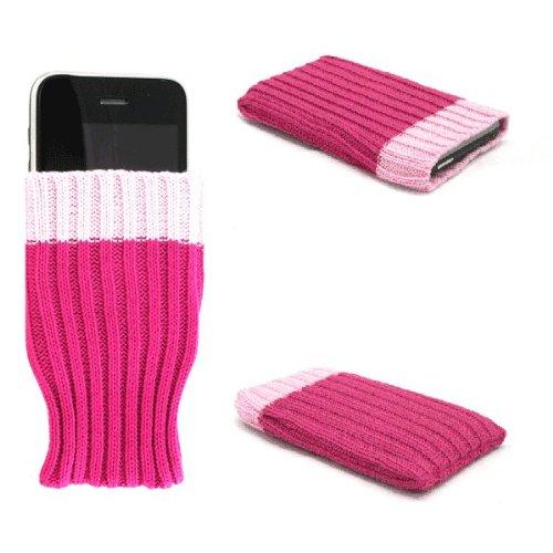 """Einzigartige Handy-Socke / Hülle / Schale """"Wow"""", rosa, geeignet für Samsung Duos Touch . Original Schale / Hülle / Folie & Tasche für Handys"""