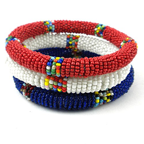 comercio-justo-joyeria-bangle-pulseras-masai-set-de-3-perfecto-para-4th-de-julio-de-rojo-blanco-y-az