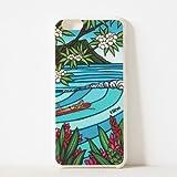 TRU Protection iPhone6用 Heather Brown Waikiki Surf Girl サイドカラー ホワイト TRU1302