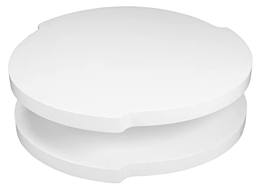 Clout White High Gloss Coffee Table