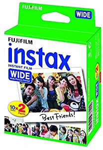 Fujifilm Instax Wide Instant Film Twin Pack, 6 boxes