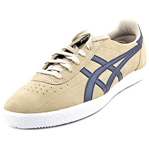 Onitsuka Tiger Vickka Moscow Fashion Sneaker,Sand/Navy,8 M US/9.5 Women's M US