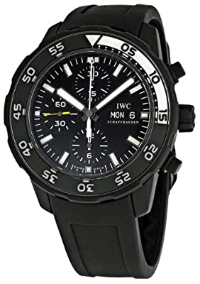 IWC Aquatimer Automatic Chronograph Black Rubber Mens Watch IWC3767-05