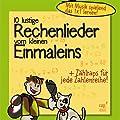 10 lustige Rechenlieder vom kleinen Einmaleins (CD)