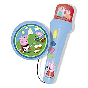 Amazon.com: Reig Peppa Pig Microphone And Amplifier: Toys & Games