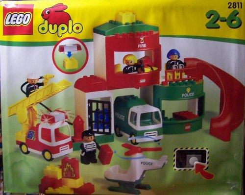 LEGO Duplo 2811 Polizei- und Feuerwehrstation