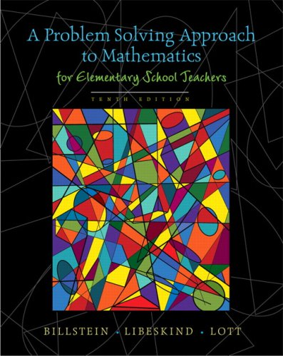 A Problem Solving Approach to Mathematics for Elementary...