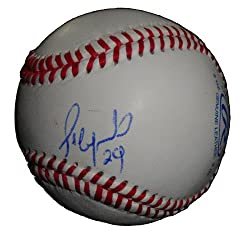 Frederich Cepeda Autographed ROLB Baseball, Team Cuba, World Baseball Classic, Proof Photo