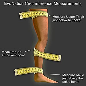 EvoNation Women's USA Made Thigh High Graduated Compression Stockings 20-30 mmHg Firm Pressure Ladies Sheer Socks Lace Top Quality Support Hose - Best Comfort Circulation (Small, Tan Beige Nude) (Color: Nude, Tamaño: Small)