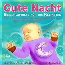 Gute Nacht - Einschlafhilfe für die Kleinsten (0-3 Jahre): Tipps, Entspannung, beruhigende Klänge für Babys und Kleinkinder Hörbuch von Franziska Diesmann Gesprochen von: Torsten Abrolat
