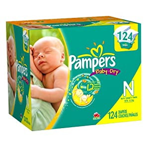 Pampers Baby Dry Diapers (Packaging May Vary)