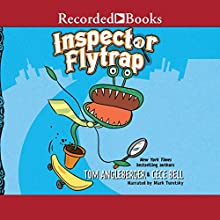 Inspector Flytrap Audiobook by Tom Angleberger Narrated by Mark Turetsky
