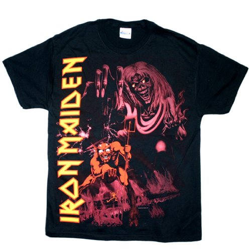 Iron Maiden - Number Of The Beast T-Shirt Size S