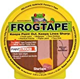 Shurtape Technologies 105550 Frog Tape Multi-Use Delicate Surface Paint Block Tape, 24mm x 55m, 1-Inch x 60-Yard by Shurtape Technologies