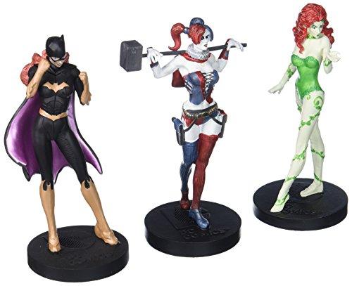 Eaglemoss-DC-Masterpiece-Figure-Collection-2-Femme-Fatales-Figurine-Set