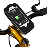 Tigra® BikeConsole Power Plus iPhone 5/5S Weatherproof / Shockproof Bicycle Holder Mount (3,000 mAh Extended Battery) (Apple-Certified Compatible)