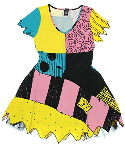 The Nightmare Before Christmas Sally Costume Dress