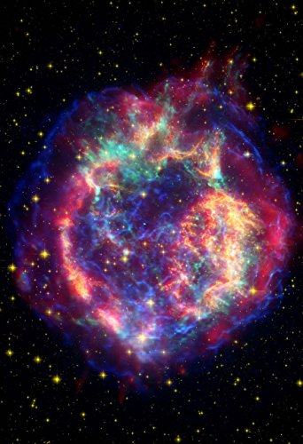 Space-Poster-of-the-Cassiopeia-Supernova