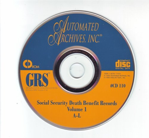 Genealogical Research System - Social Security Death Benefit Records (1937-1993)