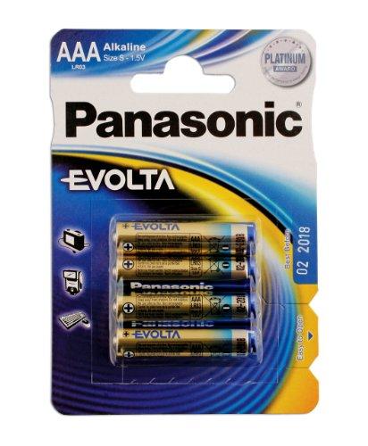 Connect 30645 Lot de 12 paquets de 4 piles Evolta AAA sous blister