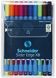 Schneider 152290 Kugelschreiber Slider Edge XB, Etui mit 10 Stück, sortiert