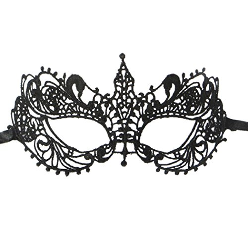 Women Girl Lace Mask Prety Sexy Eyemask for Masquerade