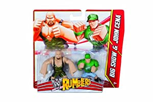 WWE Rumblers 2 Pack Big Show and John Cena