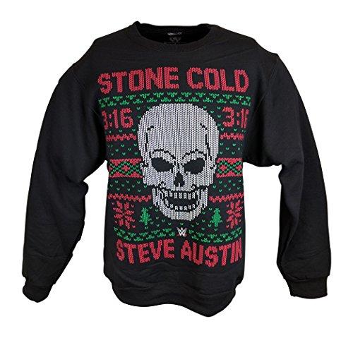 Stone Cold Steve Austin Ugly Christmas Sweatshirt