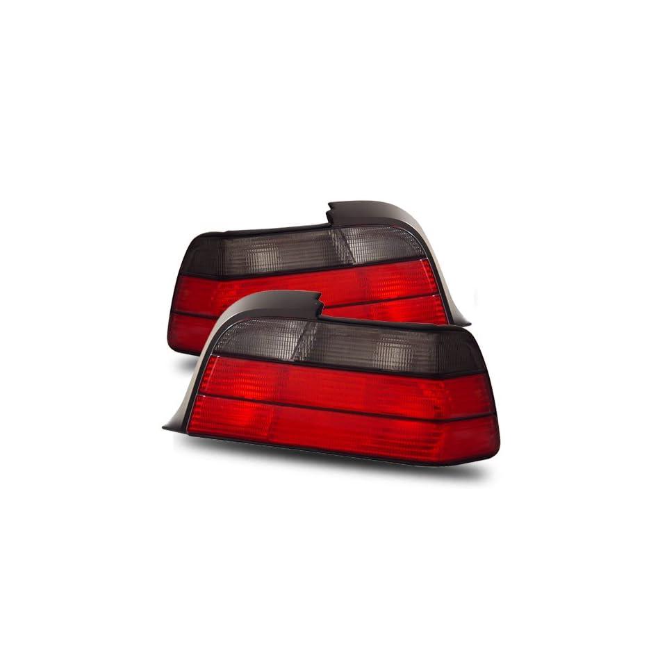 Luminx Lighting LU TL 6800 BMW 3 Series E36 Coupe Red/Smoke Tail Lights