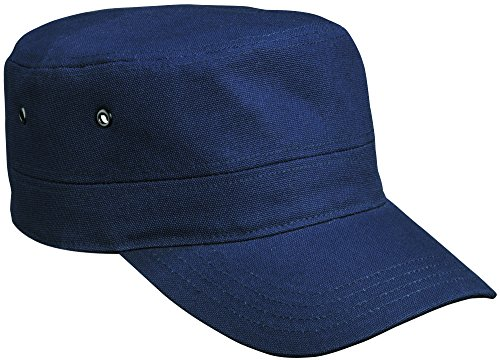 mb-premium-army-cap-military-style-hat-11-colours-mb095-navy-blue