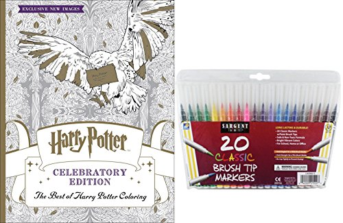The Best Of Harry Potter Coloring Book Celebratory Edition 20