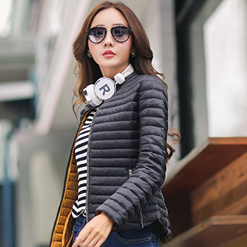 WJP donne ultra leggero rivestimento Packable gi? Outwear tampone piumino W-1552