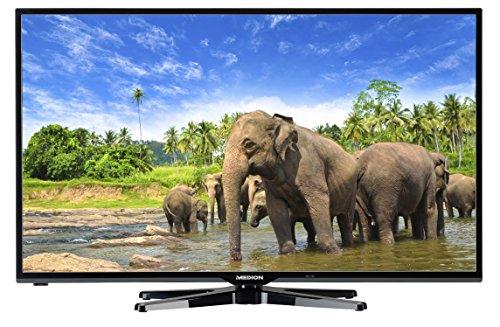 MEDION LIFE X16012 (MD 30940) 97,8cm (39 Zoll) Smart-TV (Full HD 1080p, HD-Triple-Tuner DVB-T DVB-C DVB-S2, WLAN, Medienportal, Mediathek, DLNA, Mediaplayer, USB, CI+, EEK A+) schwarz