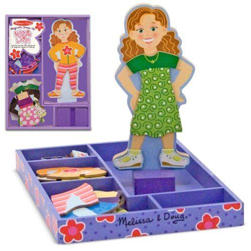 Melissa & Doug Maggie Leigh Magnetic Dress-Up Toy, Kids, Play, Children front-757923