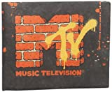 Dynomighty Men's Mtv Mighty Wallet, Black/Orange, One Size