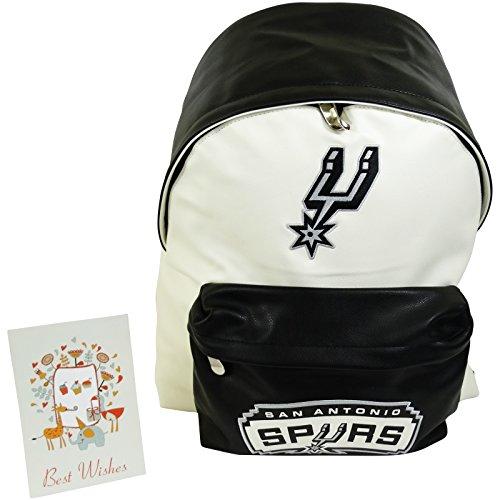 NBA San Antonio Spurs Zaino Freetime per Scuola e Tempo Libero