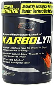 All American EFX Karbolyn Nutritional Shake,Fearless Fruit Punch Frenzy, 2.2 Pound