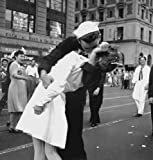 Kiss V-Day NYC WWII Poster Photo U.S. Military USA Historical Posters Photos 12x12