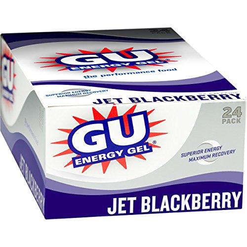 Gu Energy Gel - 24-Pack Jet Blackberry, 24 Pack - Men'S