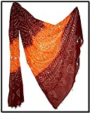 Famacart Women's Ethnicwear Cotton Bandhej Dupatta