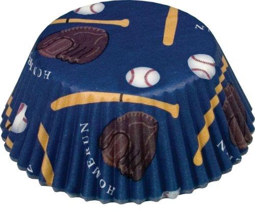 Fox Run Baseball Theme Standard Bake Cups
