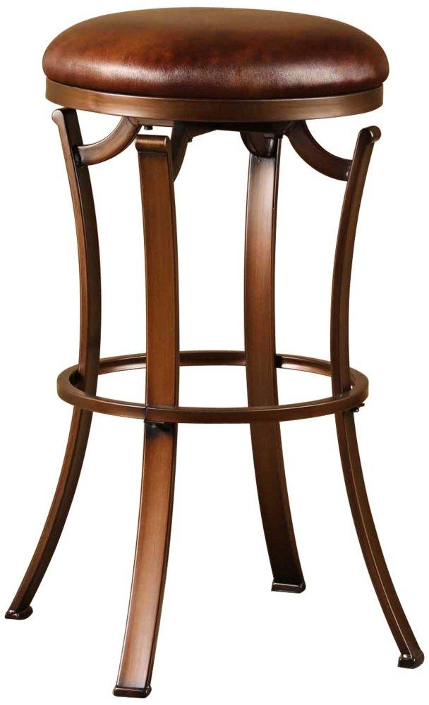 Hillsdale Furniture 4950 826 Backless Swivel Stool Metal