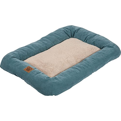 Precision Pet SnooZZy Mod Chic Low Bumper Mat, 3000 Teal (Precision Pet Bumper Pillow Bed compare prices)