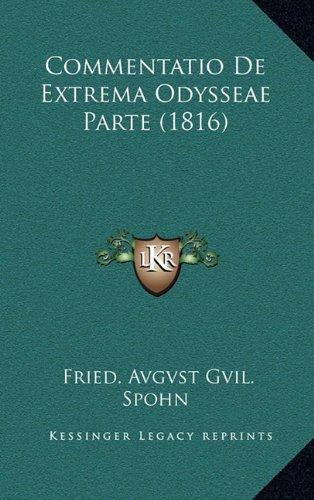 Commentatio de Extrema Odysseae Parte (1816)