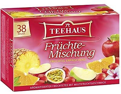 Teehaus Früchte-Mischung, 6er Pack (6 x 76 g) von Teehaus bei Gewürze Shop