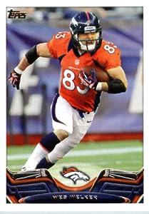 2013 Topps NFL Football Card # 340 Wes Welker Denver Broncos at Amazon