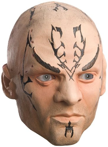 Rubies Costume Company Unisex Adult Star Trek Movie 2009 Nero Mask Adult