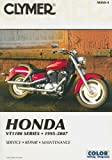img - for Honda VT1100 Series 1995-2007 (Clymer Motorcycle Repair) book / textbook / text book