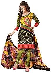 Mansi Fashion Women's Cotton Dress Material (MF-MP-2003 , MultiColor)
